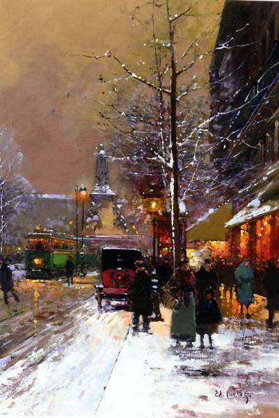Edouard Cortes Paris Place de la Republique